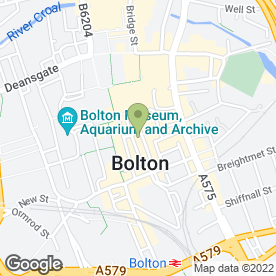 Map of Stitches of Bolton in Bolton, lancashire