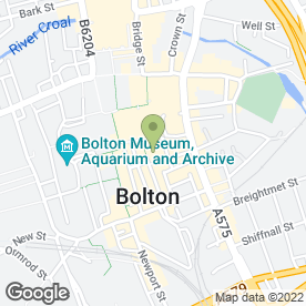 Map of Hays Travel in Bolton, lancashire
