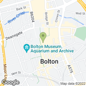 Map of Bolton Food & Drink Festival in Bolton, lancashire