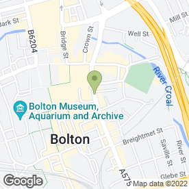 Map of Pack Horse Hotel in BOLTON, lancashire