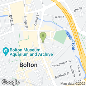 Map of Mark Haslam Sons & Co in Bolton, lancashire