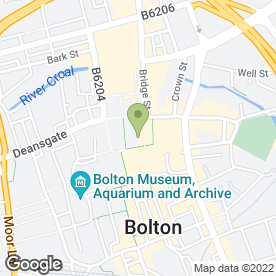 Map of Drain Alert Preston in Bolton, lancashire