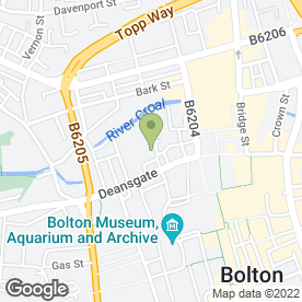 Map of Premier Stores for Beds in Bolton, lancashire