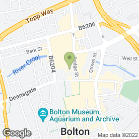 Map of Blonde on Blonde Studio in Bolton, lancashire