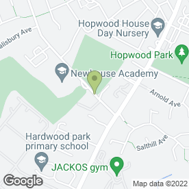 Map of P K Electrical in Heywood, lancashire