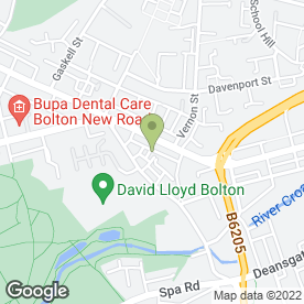 Map of Autocare Garage Services in Bolton, lancashire