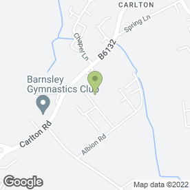 Map of Starlight Blinds in Carlton, Barnsley, south yorkshire