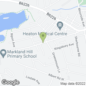 Map of Barbara Gregori Hairdressing & Beauty in BOLTON, lancashire