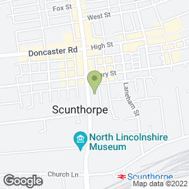 Map of Hill, Wilding & Co in Scunthorpe, south humberside