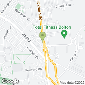 Map of TailorMaid (NW) Ltd in Bolton, lancashire