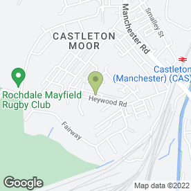 Map of Holyrood Day Nursery in Rochdale, lancashire