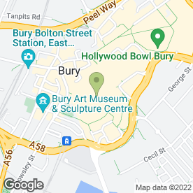 Map of Select Ltd in Wythenshawe, Manchester, lancashire