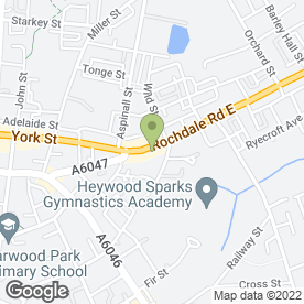 Map of Complete Technology in Heywood, lancashire