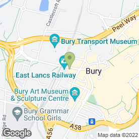 Map of Dixy Chicken in Bury, lancashire