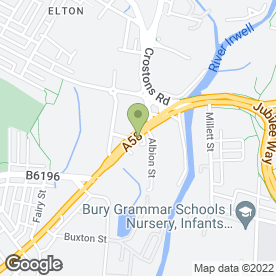 Map of Domesticare in Bury, lancashire