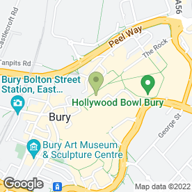 Map of McDonald's Restaurants Ltd in Bury, lancashire