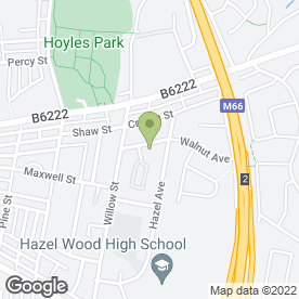 Map of Bury Scrap & Waste Services in Bury, lancashire