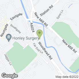 Map of Rodgers Plant Hire Ltd in Honley, Holmfirth, west yorkshire