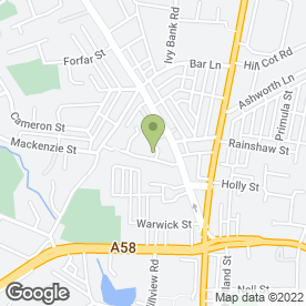 Map of D & C Plasterers in Bolton, lancashire