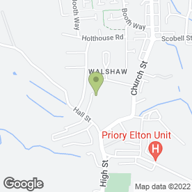 Map of HALLMARK CHASING in Walshaw, Bury, lancashire