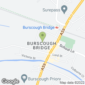 Map of BEAUMONT in Burscough, Ormskirk, lancashire