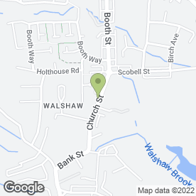Map of Oneiro Spa in Walshaw, Bury, lancashire