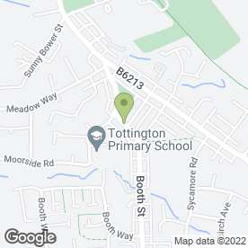 Map of Fully Fitted Properties in Tottington, Bury, lancashire