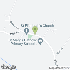 Map of Roy D Griffiths in Scarisbrick, Ormskirk, lancashire