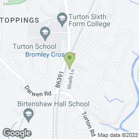 Map of Beechwood Nursery School in Bromley Cross, Bolton, lancashire