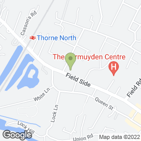 Map of The Punch Bowl in Thorne, Doncaster, south yorkshire