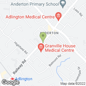 Map of WILLOW HOUSE DAY NURSERY in Adlington, Chorley, lancashire