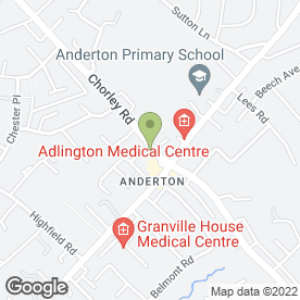 Map of R.S Tyrers & Sons in Adlington, Chorley, lancashire