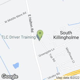 Map of TLC Driver Training in South Killingholme, Immingham, south humberside