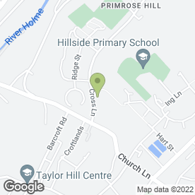 Map of Tina's Dog Grooming in Newsome, Huddersfield, west yorkshire