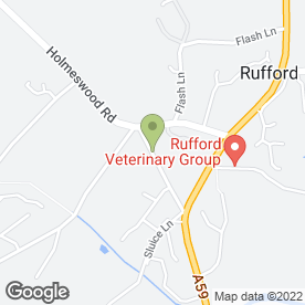 Map of Rufford Tree Services in Ormskirk, lancashire