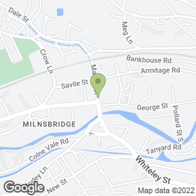 Map of ADM Residential Estate Agents in Milnsbridge, Huddersfield, west yorkshire