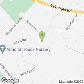 Map of M & G Property Maintenance & Landscaping in Huddersfield, west yorkshire
