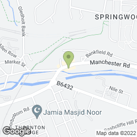 Map of M.A.C PLASTERING in Huddersfield, west yorkshire