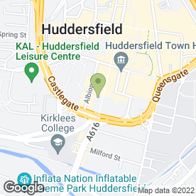 Map of Fultons Foods in Huddersfield, west yorkshire