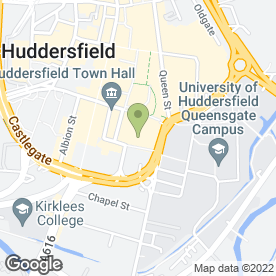 Map of Huddersfield Lighting Co in Huddersfield, west yorkshire