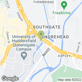 Map of Direct Training Ltd in Huddersfield, west yorkshire