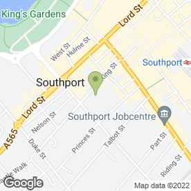 Map of Christopher Maerevoet Hair & Beauty in Southport, merseyside