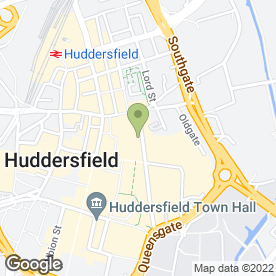 Map of Fonetech in Huddersfield, west yorkshire