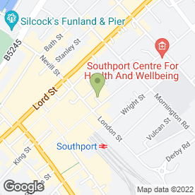 Map of Wainwright & Edwards Estate Agents in Southport, merseyside