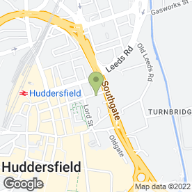 Map of The Vulcan in Huddersfield, west yorkshire