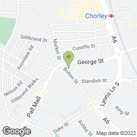 Map of B Livesey Ltd in Chorley, lancashire