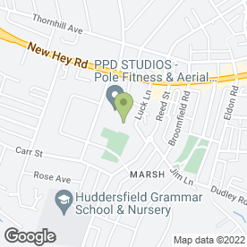 Map of Buyer Scrap Cars Huddersfield in Huddersfield, west yorkshire