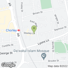 Map of Chorley Signs in Chorley, lancashire