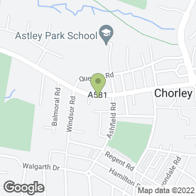 Map of Pain Free Dentist Chorley in Chorley, lancashire