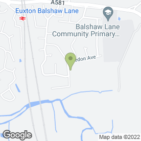 Map of Property Repair & Maintenance in Euxton, Chorley, lancashire